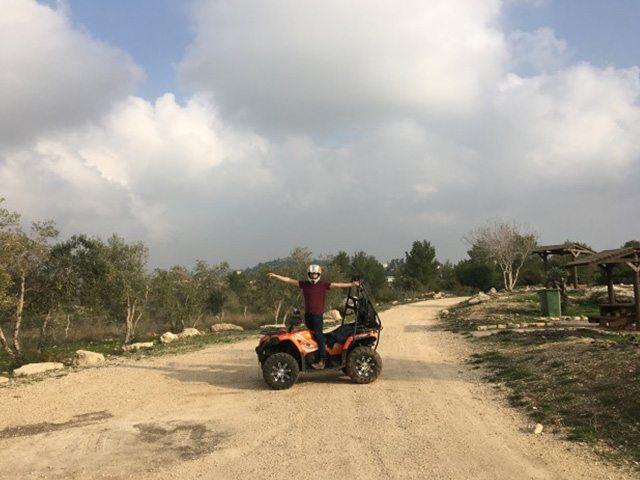 טיול טרקטורונים בירושלים